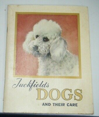 Vintage Tuckfields Dogs And Their Care Card Album  Complete