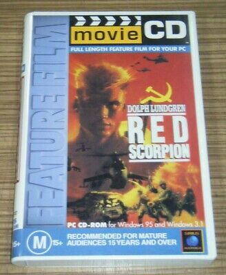 Vintage Pre-Owned Movie CD - Red Scorpion [V2]