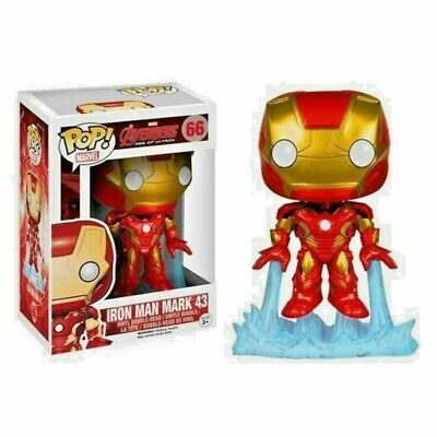 Funko Pop!! Marvel Avengers Age Of Ultron Iron Man Mark 43 Vinyl Figure #66