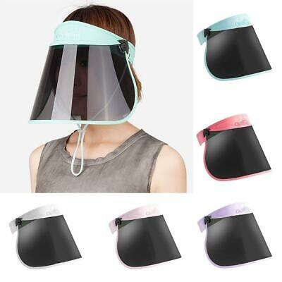 Sun Visor Hat Cap UV Protection - Premium Adjustable Solar Headband Face Shield