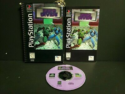 Zero Divide (Sony PlayStation 1, 1995) PS1 Longbox Complete