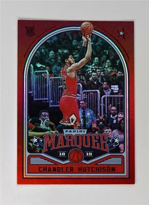 2018-19 Panini Chronicles Marquee Rookies Red #263 Chandler Hutchison /149