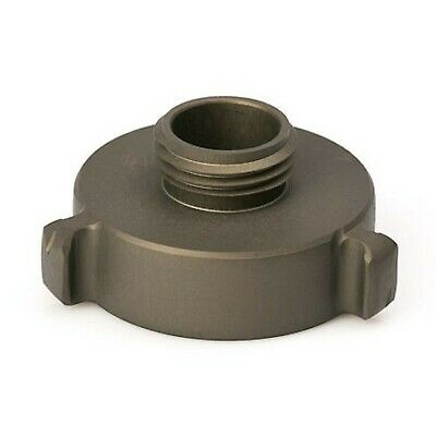 """Brand New Aluminum 1 1/2"""" Female NH to Male Garden Hose Thread (GHT) Adapter"""