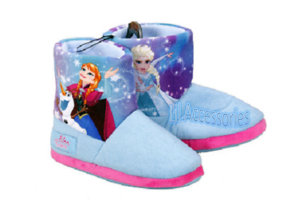 Disney Frozen Licensed Kids Slipper Boots