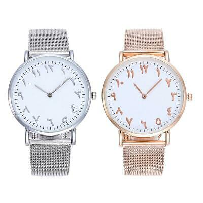 Business Round Dail Analog Quartz Aluminium Alloy Band Men Wrist Watch WST 01