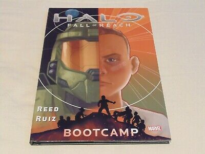 Halo Fall of Reach Bootcamp – Hardcover Graphic Novel – Reed & Ruiz – Used