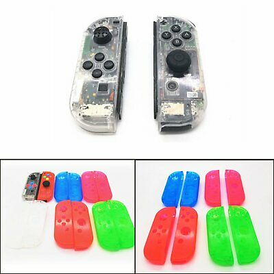 2pcs Housing Shell Case Cover Repair Parts for NS Switch Game Controller Joy-Con
