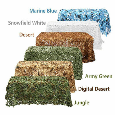2MX3m Army Camouflage Net Camo Netting Camping Shooting Hunting Hide Woodland UK