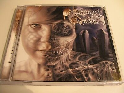 MORTUARY DRAPE Buried In Time ORG CD 1st Press 2004 Rotting Christ Necromantia