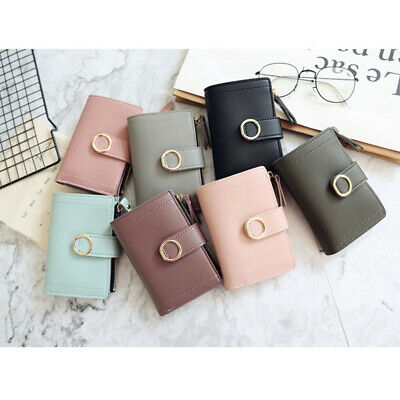 Trendy Women Ladies Leather Purse Money Clip Wallet Clutch Card Bag Holder Gifts