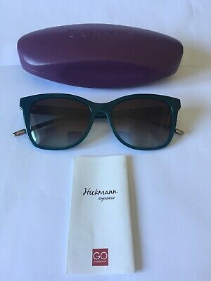 ANA HICKMANN CATSEYE  SUNGLASSES MODEL AH9203 IN COL A02 BLACK GREY GRAD LENSES