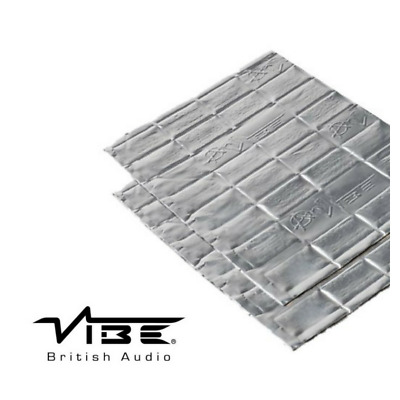 Vibe Anti-Vibe Car Audio Sound Deadening 2.5mm Car 2 Sheets Sound Proofing