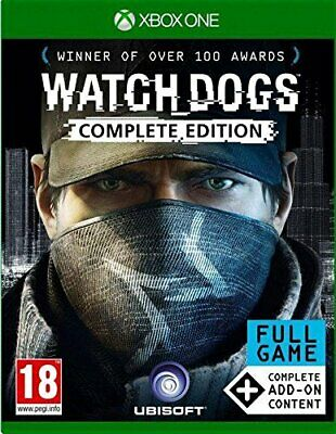 Watch Dogs Complete Edition  (nordic box) - Xbox One - game full english