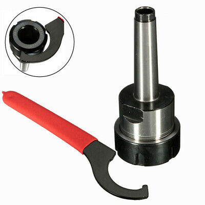 UK_ Collet Chuck Holder Fixed CNC Milling Tool Shank with Half-moon Spanner Myst
