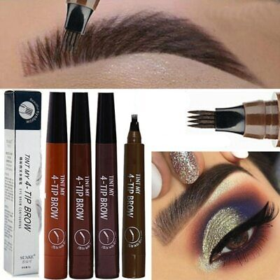 Microblading Eyebrow Pen Waterproof Fork Tip Eyebrow Tattoo Pencil Long Lasting
