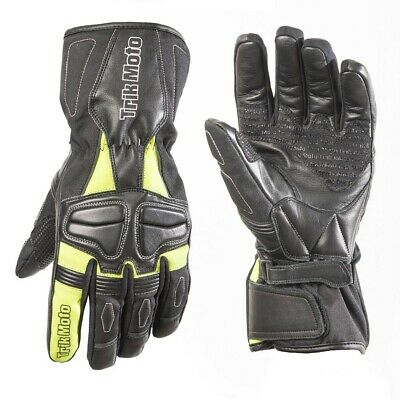 Trik Moto By Rst M145 Waterproof Leather And Textile Gloves