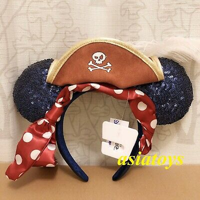 Authentic w/tag Disney parks minnie mouse ear headband Pirates of the Caribbean