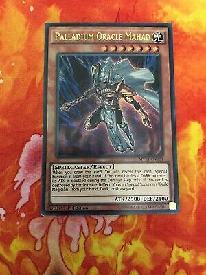 Yu-Gi-Oh Ultra Rare Palladium Oracle Mahad 1st Edition MVP1-EN053 (NM)