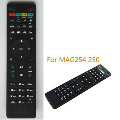 Replacement TV Remote Control for Mag250 254 256 260 261 270 IPTV TV Boxvn