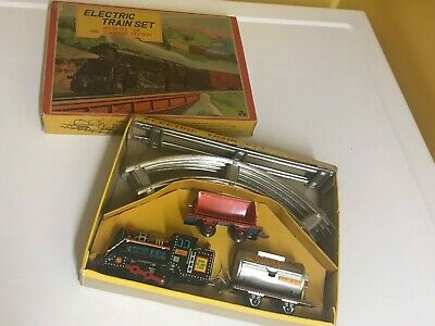 Vintage Nos Alps B/o Electric Train Set. Complete With Box, Fully Working!! Rare