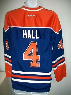 buy popular 945e9 b14bd VINTAGE EDMONTON OILERS Taylor Hall Reebok Fight Strap ...