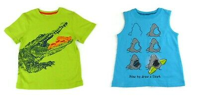 NEW LOT of 2 Jumping Beans Toddler Boys T-shirts tops tees 3T