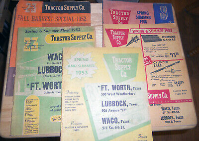 VINTAGE TRACTOR SUPPLY Co  TSC