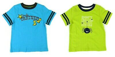 NEW LOT of 2 Jumping Beans Toddler Boys Short Sleeve T-shirts tops 18 Months 2T