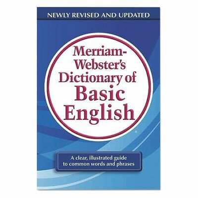 MERRIAM WEBSTER MER731-9 Dictionary,Basic English
