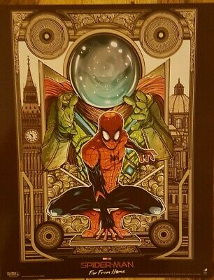 Marvel Spider-Man Far From Home ODEON Poster MYSTERIO Approx A4, Cinema IMAX