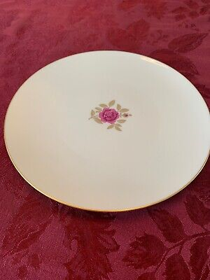 Roselyn by Lenox Dinner Plate X-304 Gold Rimmed