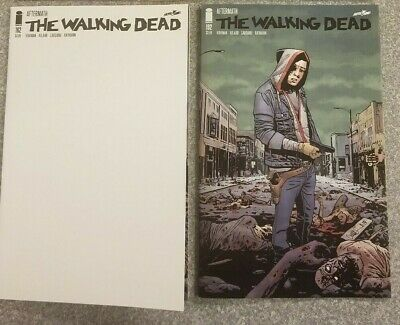 The Walking Dead DEATH OF RICK Issues 191 SECOND PRINT, 192a & 192b FIRST PRINTS