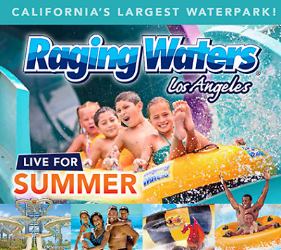Raging Waters Los Angeles Tickets $29.99 A Promo Discount Code