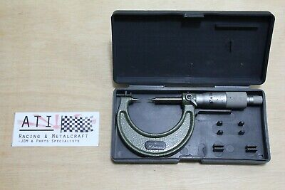 Mitutoyo 15 degree Pointed Tip Micrometer 0-25mm 0.01mm , Made in Japan