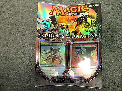 MTG Duel Deck Knights Vs. Dragons   Magic the Gathering - Factory Sealed -