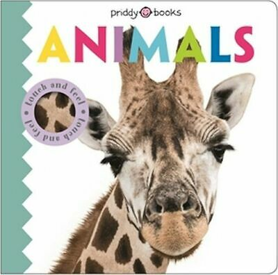 NEW Touch & Feel Friends Animals By Roger Priddy Board Book Free Shipping