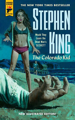 NEW The Colorado Kid By Stephen King Paperback Free Shipping