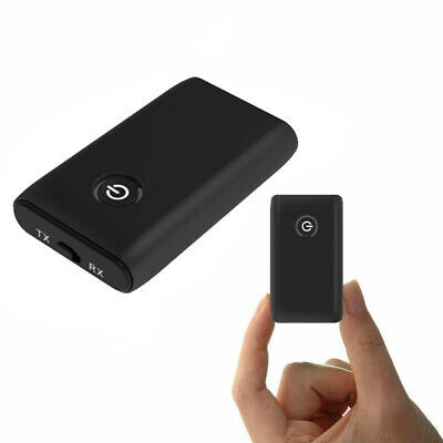 Wireless Bluetooth 3.5mm Aux Audio Stereo Music Receiver Adapter & Transmitter