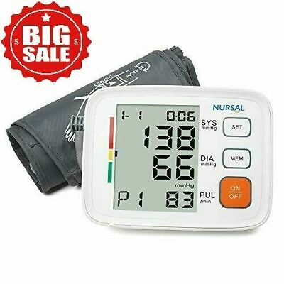 Automatic Upper Arm Blood Pressure Monitor Digital Cuff FDA Approved Pulse LCD.