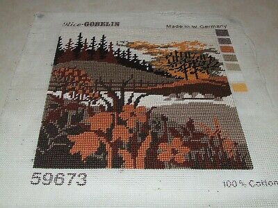 Completed Tapestry - Scene in Autumn Colours - Rico Gobelin