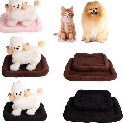New 2019 M L Size Pet Dog Crate Mat Kennel Cage Pad Blanket Cushion Sleeping