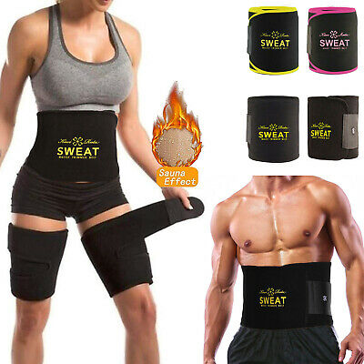 Women Waist Trimmer Belt Sweat Tummy Stomach Weight Loss Fat Burner Sport Wrap