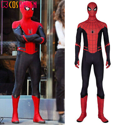 Spider Man Far From Home Cosplay Costume Jumpsuit Spiderman Halloween Suit