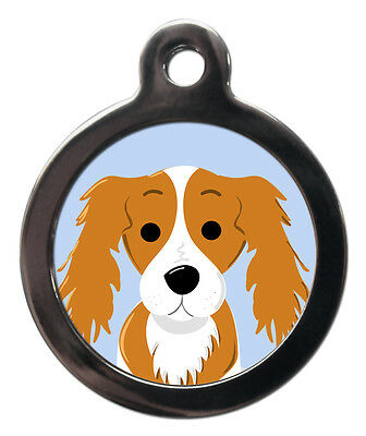 Breed Pet ID Tags - King Charles Pet Tag Dog Name ID Tag For Collar Personalised