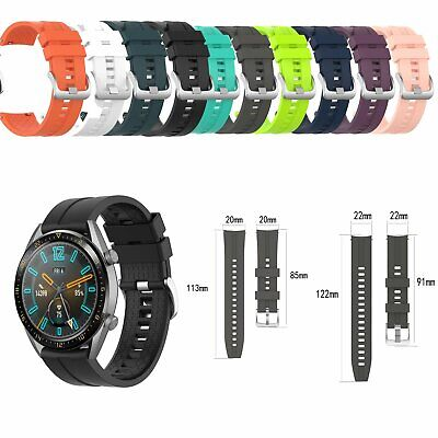 1*Soft Silicone Watch Band Wrist Strap Replacement for Huawei Watch GT 42mm/46mm