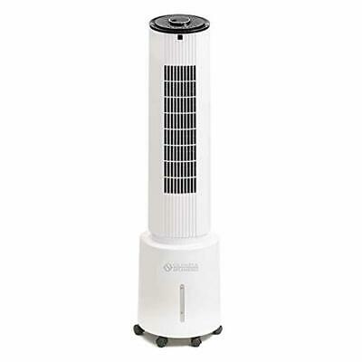 Air Cooler 5L Water Tank With Remote Control And Timer 50 W 3 Speeds Fan White