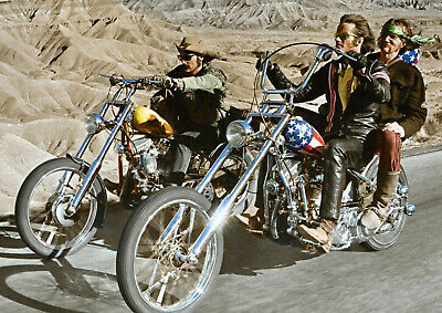 CANVAS Easy Rider 1969 Classic Movie Art Print POSTER