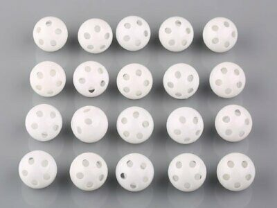 50-100pc White Toy Rattle Ball Noise Maker 24mm Dia Insert Pet Baby Toy Squeaker