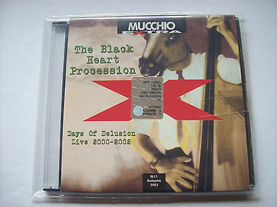 CD - The Black Heart Procession - Days of Delusion Live 2000-2002
