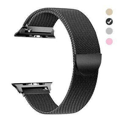 For Apple Watch Series 4 3 2 1 Magnetic Stainless Mesh Wrist Band Strap 38/42